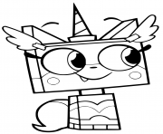 Unikitty Coloring Pages To Print Unikitty Printable