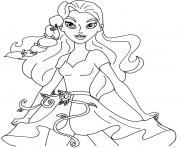 Printable Poison Ivy Super Hero Girls coloring pages