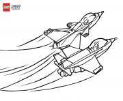 Printable Lego City Jet Airport coloring pages