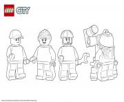 Printable Lego City Space Starter Set coloring pages