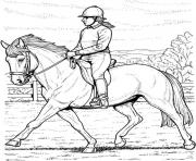 Printable Collected Horse coloring pages