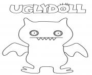 Printable funny ugly dolls for kids coloring pages