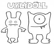 Printable ugly dolls comedy movie coloring pages