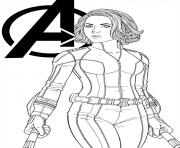 agent romanoff by jamiefayx coloring pages