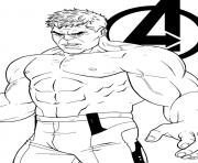 avengers endgame the hulk coloring pages