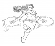 Captain Marvel Avengers Endgame By JamieFayX coloring pages