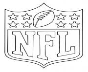 NFL National Football Logo