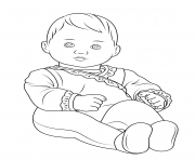 Printable american girl bitty baby coloring pages