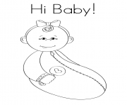 Its A Baby Boy Coloring Pages Printable