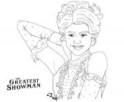 Printable the greatest showman anne wheeler zendaya coloring pages