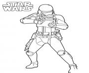 Printable Strormtrooper star wars 7 coloring pages