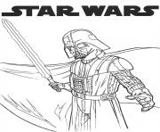 Printable dark vador star wars coloring pages