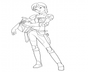 Printable star wars rebel sabine wrens coloring pages