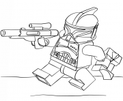 Printable lego clone trooper coloring pages