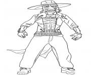 Printable cad bane Star Wars The Clone Wars coloring pages