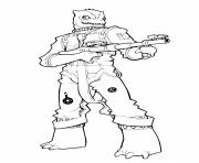 Printable bossk Star Wars The Clone Wars coloring pages