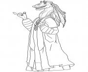 Printable jar jar binks Star Wars Episode II Attack of the Clones coloring pages