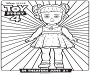 Printable Toy Story 4 Gabby Gabby coloring pages