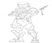 Printable overtaker fortnite hd coloring pages