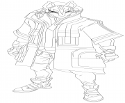 Printable drift fortnite hd coloring pages