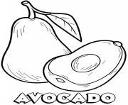 vegetable avocado
