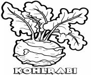 vegetable kohlrabi