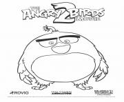 Big Black Bird Bomb from Angry Birds Movie 2