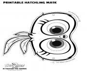 Hatchling Mask for Angry Birds 2