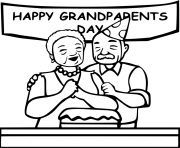 Happy day for grandparents