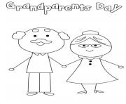 happy grandparents day cute simple