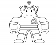 Printable roblox looking for diamond coloring pages