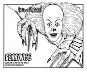 kids pennywise draw it