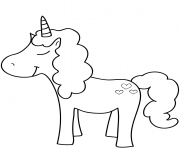 Printable smart unicorn coloring pages