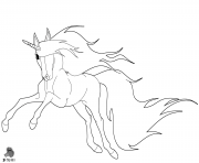 Printable unicorn by purapuss coloring pages