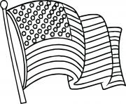united states flag coloring pages