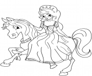 Princess Coloring Pages To Print Princess Printable