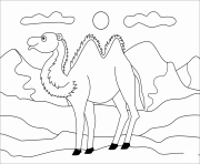 camel animal simple