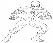 Spider Man Coloring Miles Morales Coloring Pages Printable