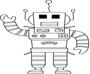 Printable Roblox Robot coloring pages