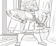 Printable henry viii united kingdom coloring pages