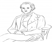 Printable charles darwin united kingdom coloring pages