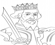 Printable william the conqueror united kingdom coloring pages