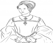 Printable mary i tudor united kingdom coloring pages