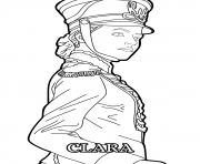 Printable Clara Disney The Nutcracker coloring pages