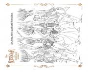Clara Phillip and the guards battle the tin soldiers coloring pages