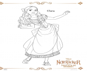 Printable Clara The Nutcracker coloring pages
