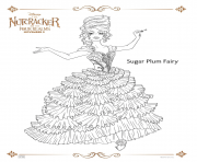 Printable Sugar Plum Fairy coloring pages
