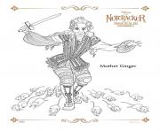 Printable Mother Ginger The Nutcracker coloring pages