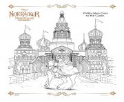 Printable Philip takes Clara to the Casle The Nutcracker coloring pages