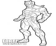 Printable Omega from Fortnite Season 8 coloring pages